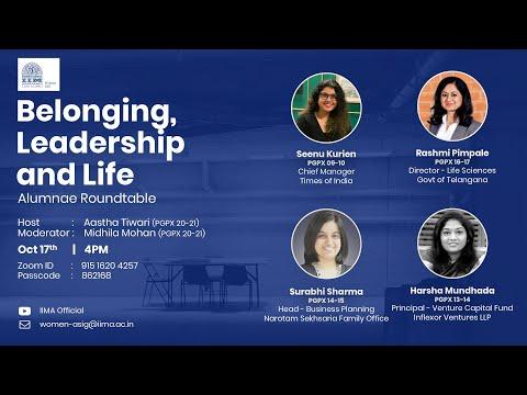 Belonging, Leadership and Life
