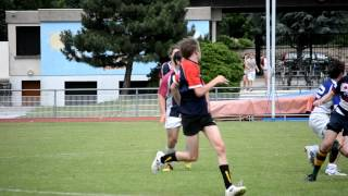 preview picture of video 'BRFC Barbarians vs BSP Old Boys: 30th June 2012'