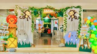Jungle Safari Themed Party By Party Dish- Event Styling