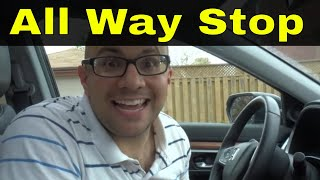 All Way Stop Intersections-What To Do