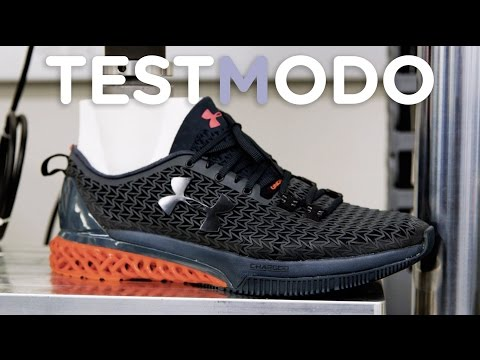 We Beat Up Under Armour's New 3D-Printed Shoe And It Survived Gracefully