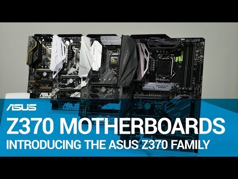 Z370 Motherboard Family Overview