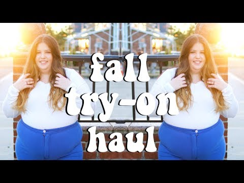 fall plus size try-on haul! fashion nova curve
