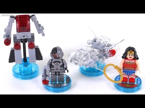 LEGO Dimensions toys: Cyborg & Wonder Woman Fun Pack items reviewed!