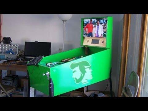 The Rhett and Link Pinball Machine