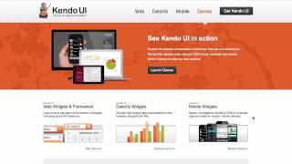 Kendo UI Official Launch Webinar