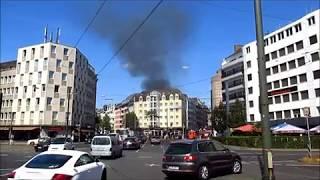 Hausbrand auf der Ackerstraße