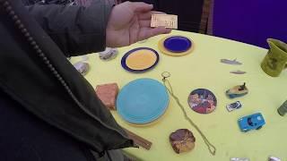 Flea market! Shopping to make a dollar! Lots of small treasures for eBay!