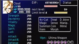 FFVII Perfect Game File (FINAL Version)