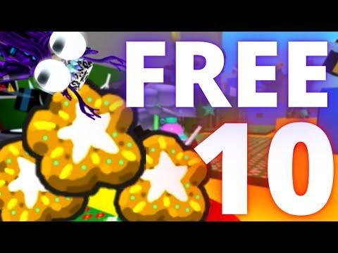 10 FREE STAR TREATS *FREE* | Roblox Bee Swarm Simulator