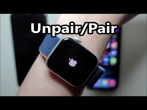 How to Unpair Apple Watch and Pair with new iPhone