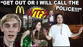 McDonald's REFUSED TO GIVE US WATER WE PAID FOR!!