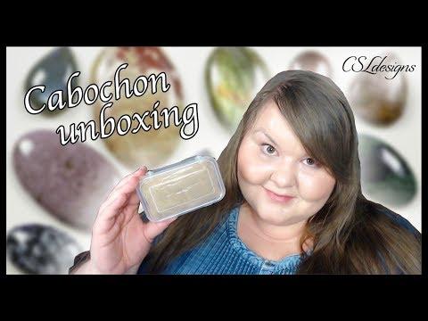 Cabochon unboxing ⎮ Cabochons4sale