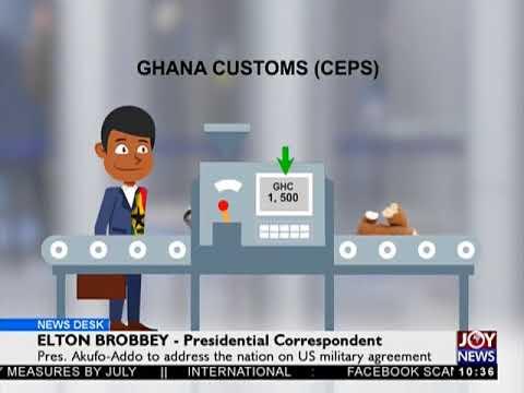 Ghana-US Military Agreement - News Desk on JoyNews (5-4-18)