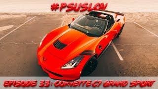 Так ли хорош Chevrolet Corvette C7 Grand Sport? Обзор, тест драйв в США [4K]