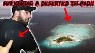 SURVIVING THE NIGHT ON A DESERTED HAUNTED ISLAND! ** I ALMOST LOST MY LIFE**   MOE SARGI