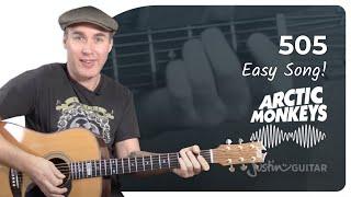 505 - Arctic Monkeys - Beginner Song Guitar Lesson Tutorial (BS-220)