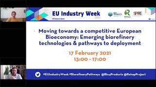 Webinar:Tecnologías emergentes de biorrefinería y vías de implementación