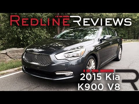 2015 Kia K900 V8 – Redline: First Drive