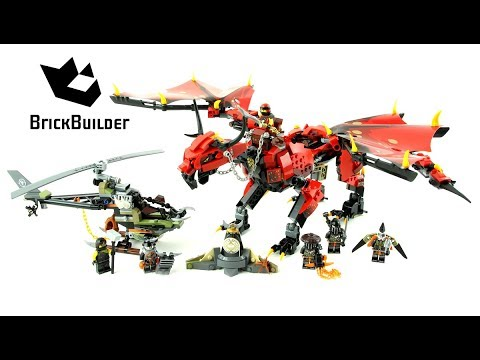 Vidéo LEGO Ninjago 70653 : Le dragon Firstbourne