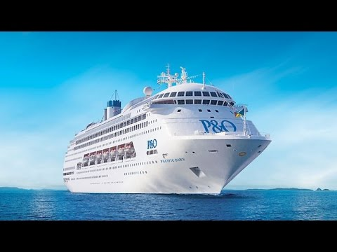 P&O Pacific Dawn Cruise – Ship Deck Tour