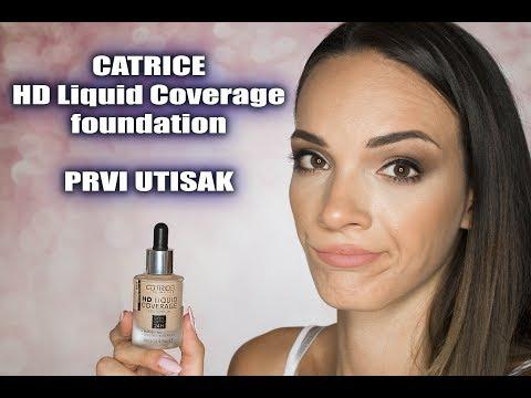 Prvi utisak | Catrice HD Liquid Coverage tečni puder + update u toku dana (nakon 11h nošenja)