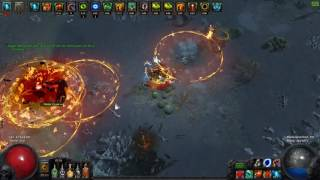 2.3.0f Path of Exile Vaal Reave Slayer with 110% Area Showcase in Dried Lake