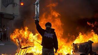 La colère et la violence persistent aux États-Unis après la mort de Georges Floyd