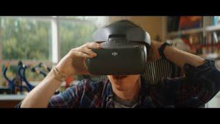 Окуляри DJI Goggles Racing Edition від компанії CyberTech - відео