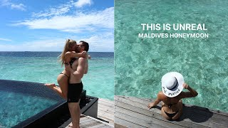 OUR HONEYMOON! | Maldives Part One
