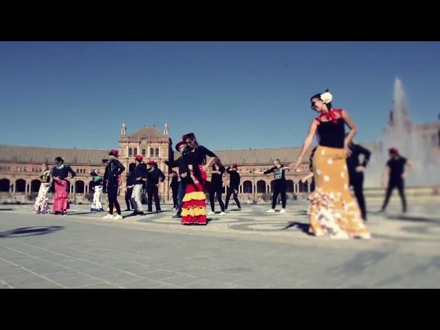Lipdub en Plaza de España