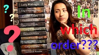 IN WHICH ORDER SHOULD YOU READ THE SHADOWHUNTER CHRONICLES