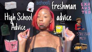 46 Freshman + High School Advice Tips 🎒 ( From A Senior )