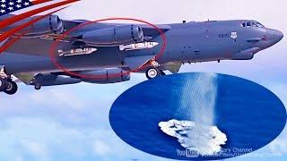 B-52 Drops Quickstrike-ER New Mine from 50 Miles Away