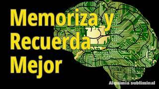 Memoriza y Recuerda Mejor