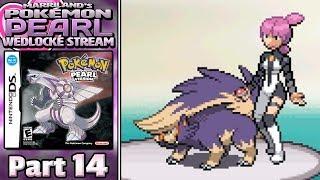 Pokémon Pearl Wedlocke Stream, Part 14 • Feb. 20, 2018 • STREAM ARCHIVE