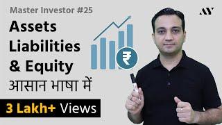 Assets, Liabilities & Equity - Explained in Hindi