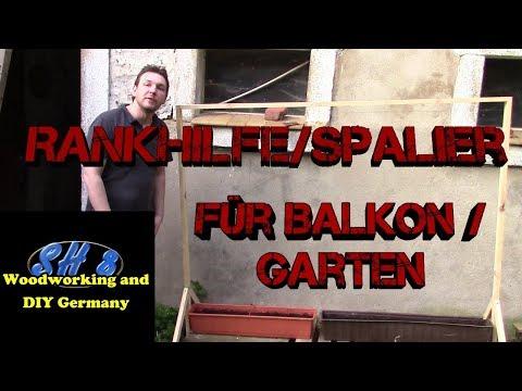Rankhilfe | Spalier | Rankgitter für Balkon und Garten