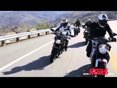 Unusual Suspects – Naked Sportbike Shootout