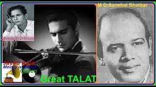 TALAT MAHMOOD-Film-DEEWALI KI RAAT~[1956]~Kahan