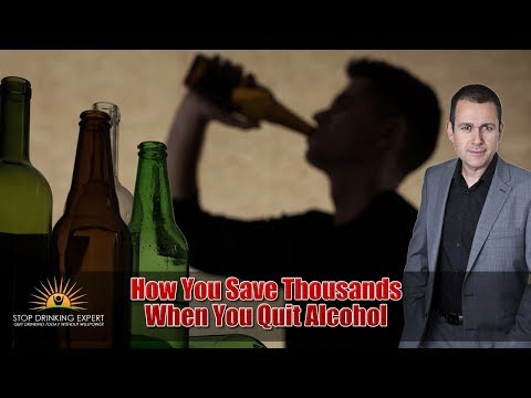 Quit Drinking Course Part 6: The Cost of Alcohol Addiction (SAMPLE)