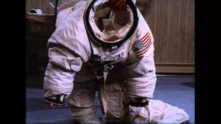 Clip from Moonwalk One, ca. 1970: Space Suit