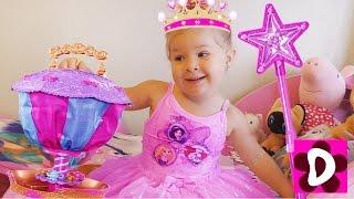 Принцессы НА ВОЗДУШНОМ ШАРЕ Принцесса София ищет Друзей Видео для Детей и Малышей Игры для Девочек