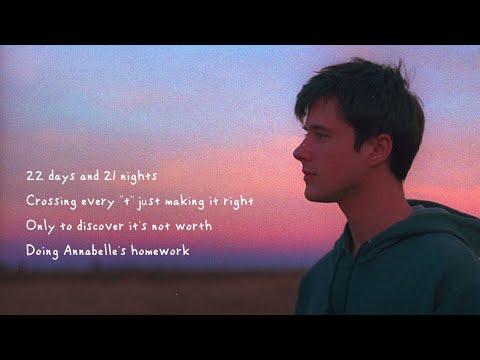 Annabelle's Homework Lyrics – Alec Benjamin