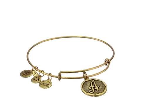 Alex and Ani Initial Expandable Wire Bangle Bracelet Review