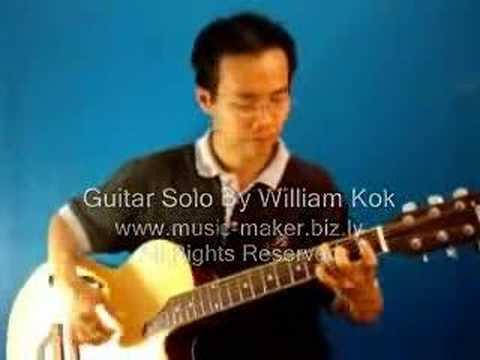 I Lift My Voice - Guitar Solo - http://williamkok.com