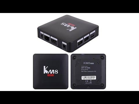 KM8 Pro Amlogic S912 2GB RAM 16GB ROM TV Box from Banggood