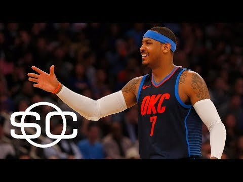 Carmelo Anthony reaches 25,000 points | SportsCenter | ESPN