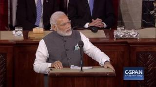 Indian Prime Minister Narendra Modi Addresses Joint Meeting Of Congress – FULL SPEECH CSPAN
