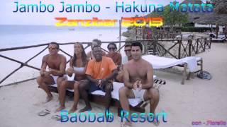 Zanzibar 2013 Hakuna Matata - Jambo Bwana  - Baobab Resort con Fiorello
